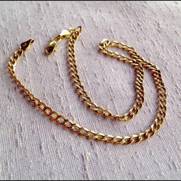 608aebd8b8de1 Baby 14K Gold Chain Necklace